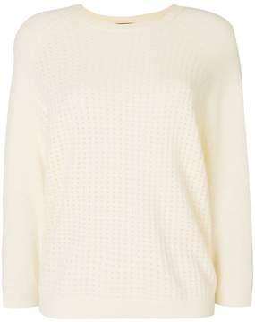N.Peal pointelle knit jumper