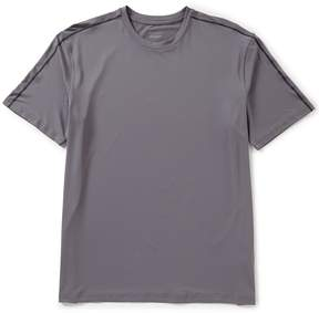 Roundtree & Yorke Big and Tall Coolcore Short-Sleeve Solid Crew Tee