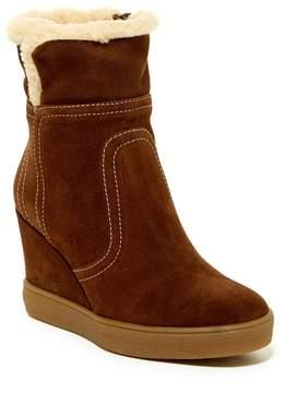 Aquatalia Cindy Faux Fur Wedge Boot