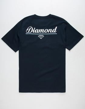 Diamond Supply Co. Rock Script Mens T-Shirt