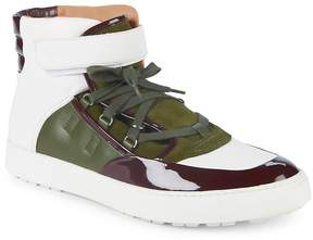 Bally Men's Osman High-Top Leather Sneakers