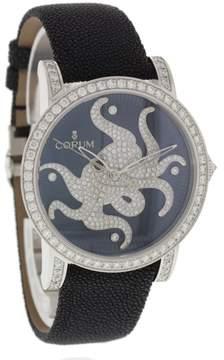 Corum Octopus 982.202.69 18K White Gold & Diamonds 42mm Unisex Watch