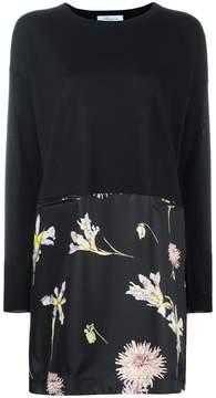 Blumarine floral print shift dress
