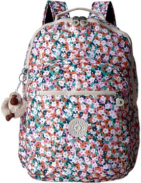 Kipling - Seoul Backpack with Laptop Protection Backpack Bags