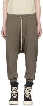 Rick Owens Grey Prisonner Lounge Pants