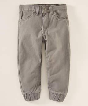 DKNY Charcoal Jogger Pants - Toddler & Boys
