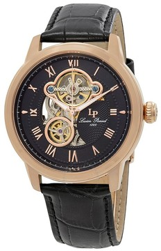 Lucien Piccard Optima Automatic Open Heart Men's Watch
