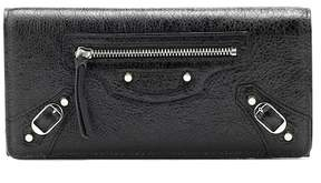 Balenciaga Classic Continental leather wallet