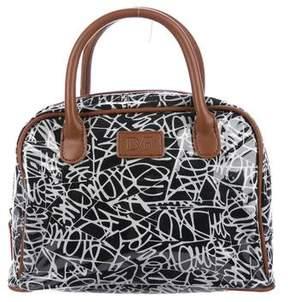 Diane von Furstenberg Printed PVC & Canvas Bag