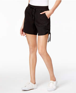 Style&Co. Style & Co Pull-On Ruched Shorts, Created for Macy's