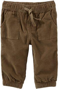 Osh Kosh Baby Boy Brown Corduroy Pull-On Pants