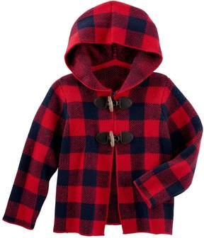 Osh Kosh Oshkosh Bgosh Baby Girl Buffalo Check Midweight Jacket