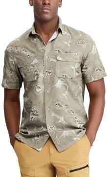 Chaps Men's Classic-Fit Performance Woven Button-Down Shirt