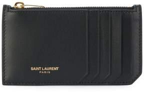 Saint Laurent Fragments zip pouch - BLACK - STYLE