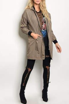 Cherish Khaki Jacket