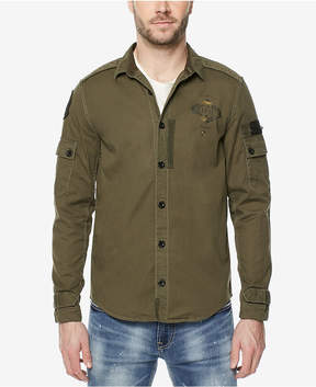 Buffalo David Bitton Men's Pieced Cargo Shirt