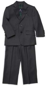 U.S. Polo Assn. Little Boy's & Boy's Textured Two-Button Suit