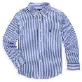 Ralph Lauren Toddler's, Little Boy's & Boy's Bengal-Stripe Shirt