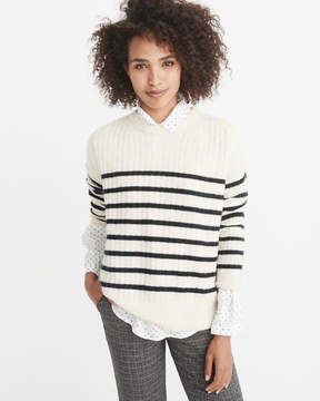 Abercrombie & Fitch Ribbed Pullover Sweater