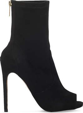 Carvela Gesture zip-up suedette boots