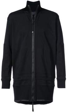 Diesel Black Gold zip tunic hoodie