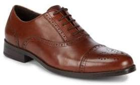 Saks Fifth Avenue Leather Peforated Dress Shoes