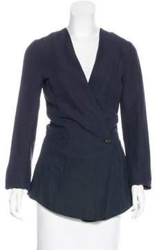 Damir Doma Oversize Linen-Blend Jacket