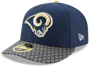 New Era Los Angeles Rams Sideline Low Profile 59FIFTY Fitted Cap