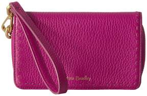Vera Bradley Rfid Mallory Smartphone Wristlet Wristlet Handbags - WILD BERRY - STYLE
