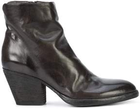 Officine Creative Jacqueline creased ankle boots