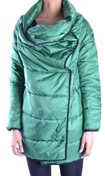 Dirk Bikkembergs Women's Green Polyamide Coat.