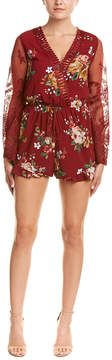 Flying Tomato Lace Romper