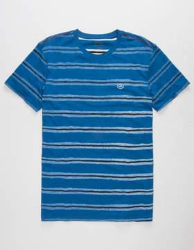 RVCA Warped Stripe Mens T-Shirt