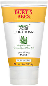 Burt's Bees Natural Acne Solutions Pore Refining Scrub