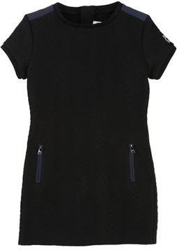 Karl Lagerfeld Quilted Dress w/ Zip Pockets, Size 6-10