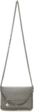 Stella McCartney Grey Mini Falabella Fold Over Bag