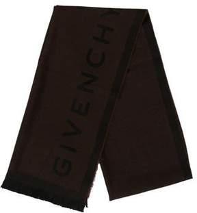 Givenchy Logo Wool Scarf w/ Tags