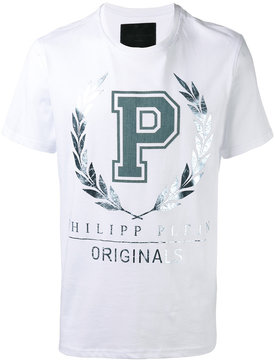 Philipp Plein metallic print T-shirt