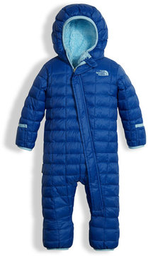 The North Face Quilted ThermoBall Bunting, Blue, Size 3-24 Months