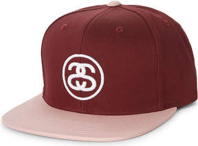 Stussy SS Link cotton snapback cap
