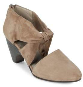 Eileen Fisher Mary Knotted Leather Pumps
