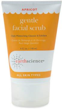 Apricot Gentle Facial Scrub by Earth Science (4.5oz Scrub)