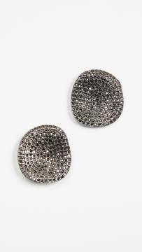 BaubleBar Encrusted Acrylics Stud Earrings