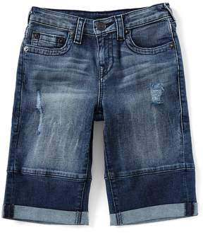 True Religion Big Boys 8-20 Geno Single-End Shorts