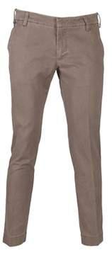 Entre Amis Men's 81881103505 Brown Cotton Pants.