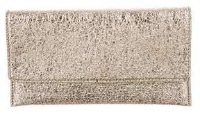 Loeffler Randall Metallic Leather Wallet