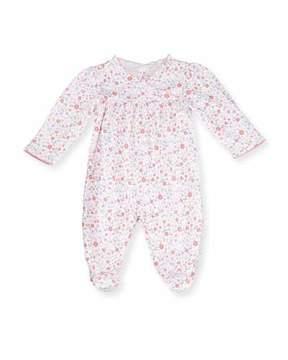 Kissy Kissy Fall Blossoms Pima Footie Pajamas, Pink, Size Newborn-9 Months