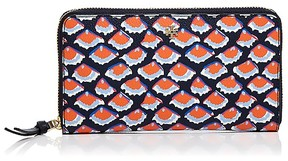 Tory Burch Kerrington Zip Continental Wallet - FIORI/GOLD - STYLE
