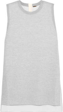 ADAM by Adam Lippes Merino Wool Tunic - Light gray
