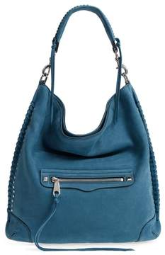 Rebecca Minkoff Slim Regan Leather Hobo - BLUE - STYLE